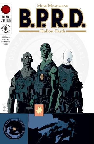 B.P.R.D.: Hollow Earth #1 image