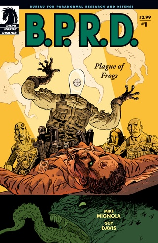 B.P.R.D.: Plague of Frogs #1 image