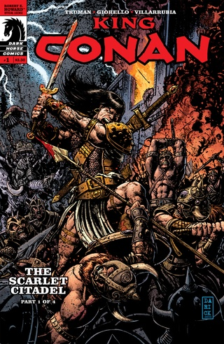 King Conan: The Scarlet Citadel #1 image