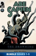 Abe Sapien: The Drowning #1-#5 Bundle image