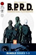 B.P.R.D.: Hollow Earth #1-#3 Bundle image