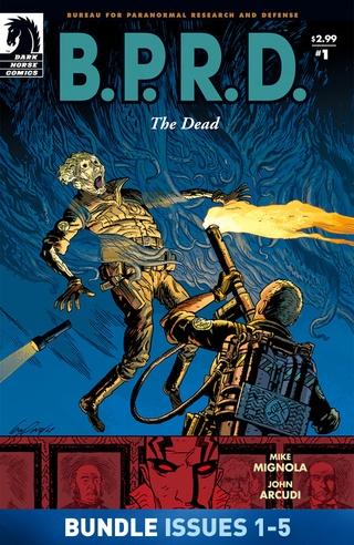 B.P.R.D.: The Dead #1-#5 Bundle image