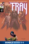Joss Whedon's Fray #5-#8 Bundle image