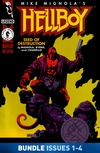 Hellboy: Seed of Destruction #1-#4 Bundle image