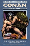 Chronicles of Conan vol. 4 The Song of Red Sonja and Other Stories image