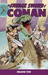 The Savage Sword of Conan Volume 10 image