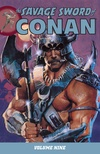 The Savage Sword of Conan Volume 9 image