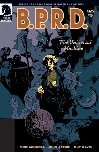 B.P.R.D.: The Universal Machine #5 image