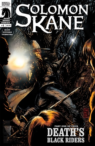 Solomon Kane: Death's Black Riders #1-#4 Bundle image