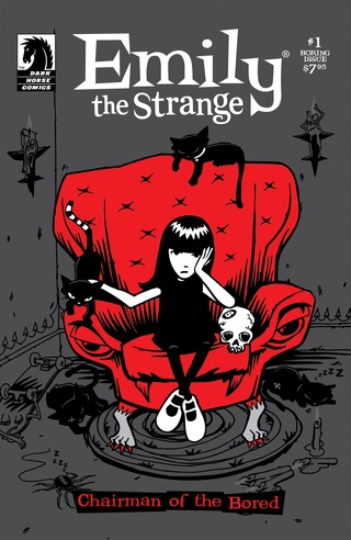 Emily the Strange #1: The Boring Issue image
