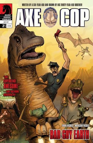 Axe Cop: Bad Guy Earth #2 image