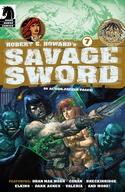 Robert E. Howard's Savage Sword #7-9 Bundle image