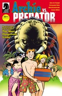 Archie vs. Predator #1-4 Bundle image