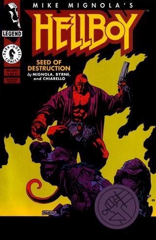 Hellboy: Seed of Destruction #1 image
