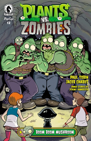 plants vs zombies comic book
