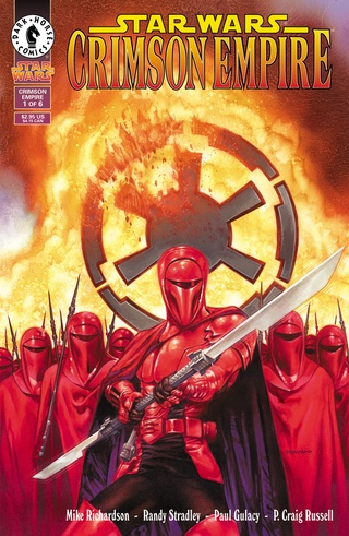 Star Wars: Crimson Empire #1-#6 Bundle image