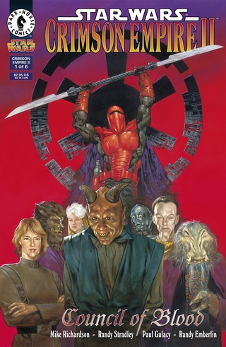 Star Wars: Crimson Empire II--Council of Blood #1-#6 Bundle image