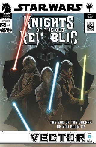 Star Wars: Knights of the Old Republic #25—Vector Part 1 image
